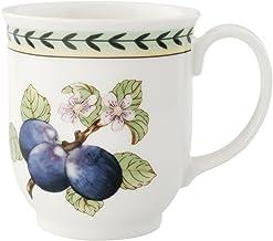 Villeroy & Boch Charm and Breakfast French Garden Coffee Mug, 420 ml, Height: 9 cm, Premium Porcelain, White/Multicolour, ...