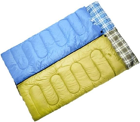 SHUIDAI Sac de couchage avec capuche ultra light camping plein air , jaune , 1.8kg