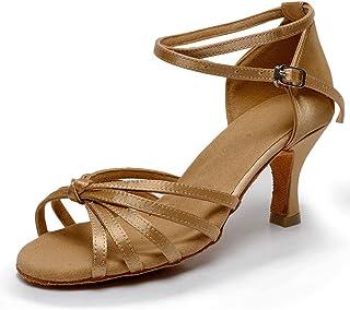 2ae43238a04eb9 VASHCAME - Donna Scarpe da Ballo Latino/Sala da Ballo/Standard Tacco 5cm/
