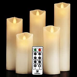 comenzar Flameless Candles, Battery Candles Set (H 5