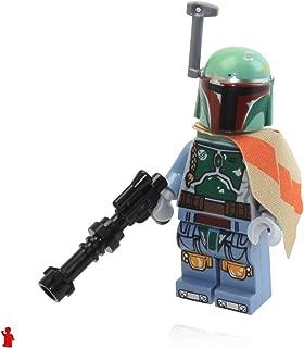 LEGO Star Wars Minifigure - Boba Fett Bounty Hunter with Blaster Gun