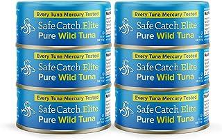 Safe Catch Elite Wild Tuna, 6 Piece