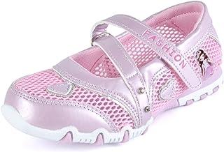 55e58d59f63e4c SAGUARO Kids Girls Breathable Sandals Buckle Strap Mesh Princess Walking  Shoes Summer