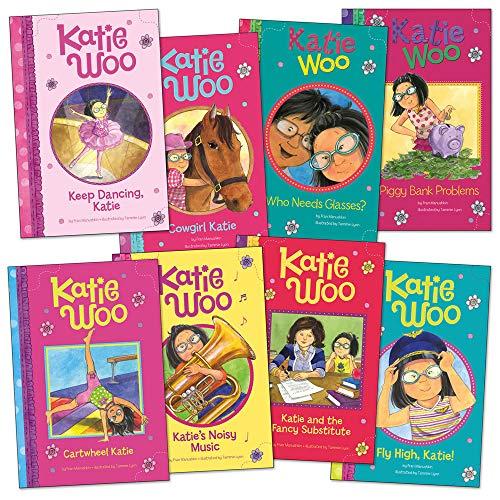 Capstone Press Katie Woo Book Collection - Set of 8