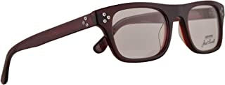 All Star P004 UF Jack Purcell Eyeglasses 50-21-145 Burgundy w/Demo Clear Lens P004UF