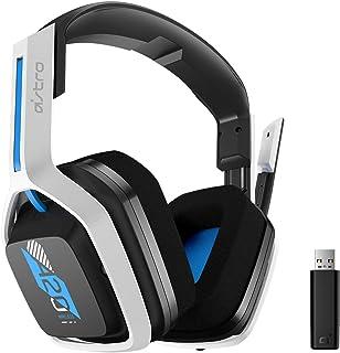 ASTRO Gaming A20 Wireless Headset Inalámbrico Gen 2 para Playstation 5, Playstation 4, PC, Mac, Negro/Azul/Blanco