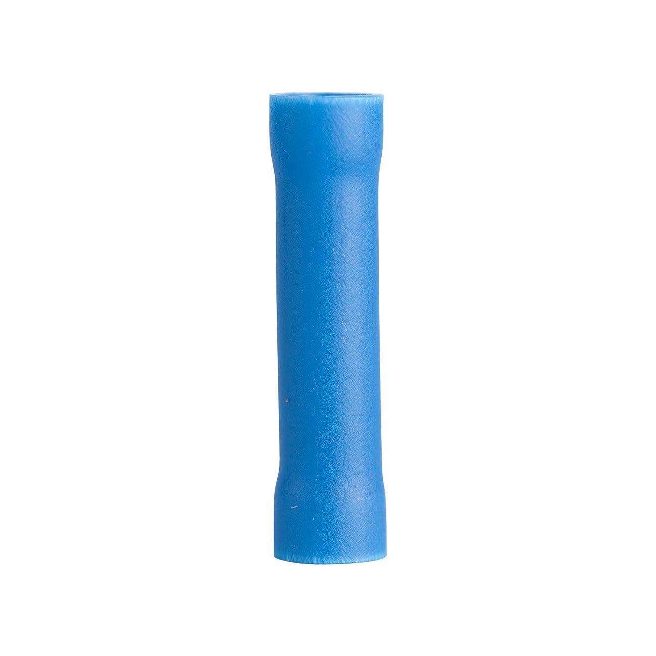 Gardner Bender 10-123 Butt Splice, Vinyl Fully-Insulated Barrel, 16-14 AWG, Blue