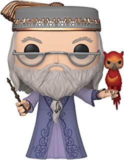 """Funko Pop! Harry Potter: Harry Potter- 10"""" Dumbledore with Fawkes, Multicolor, Model:48038"""