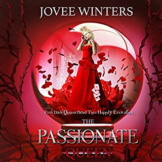 The Passionate Queen audiobook cover art