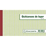 Exacompta–43E–Recibos de pago de alquiler, triple copia –50hojas (idioma español no garantizado)