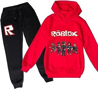 ZKDT Roblox - Sudadera con capucha clásica y cómoda para niños y niñas de 3 a 14 (estilo 4,110)