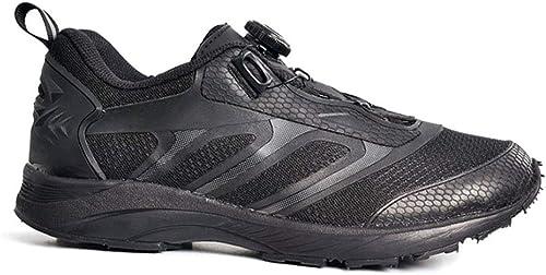 Tenthree Casual Low-Top botas de Combate Unisex-Adulto - Anti-Deslizante Carrera Plana Zapatilla de Deporte Militar Trekking Excursionismo Al Aire Libre botas de Entrenamiento