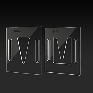 StewMac Acoustic Neck Joint Routing Templates - Set of 2 for Dovetail Neck Joint
