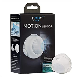 Geeni Wi-Fi Smart Motion Sensor, No Hub Required, White