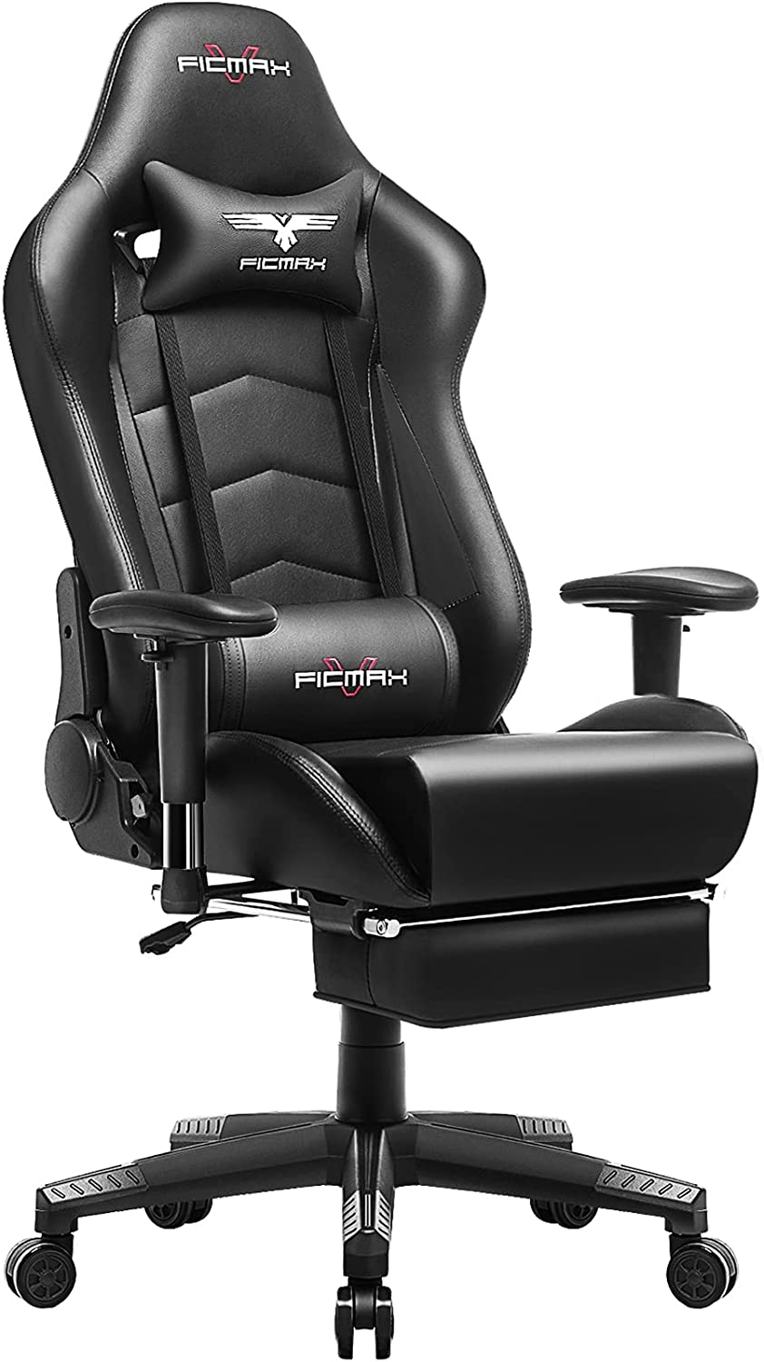 Ficmax Gaming Chair with Footrest Review