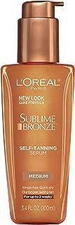 L'Oreal Paris Sublime Bronze Self-Tanning Serum Medium Natural Tan 3.4 fl. oz.