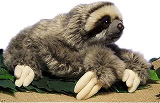 LuLezon Very Soft Three Toed Sloth Plush Stuffed Animal Toy 12.5 inch