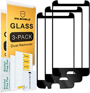 [3-Pack]-Mr.Shield for Motorola Moto Z2 Force Edition [Japan Tempered Glass] [9H Hardness] [Full Cover] Screen Protector with Lifetime Replacement