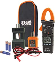 Klein Tools CL110KIT Electrical Tester/Maintenance Kit w/Clamp Meter, Continuity Tester, GFCI Tester, Line Splitter, Case,...