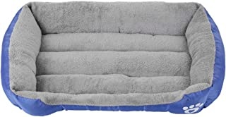 Galapara ペット用ベッド 犬・猫用ベッド クッション マット 洗濯可能 柔らかい 咬む防止 防湿 ペット用品L