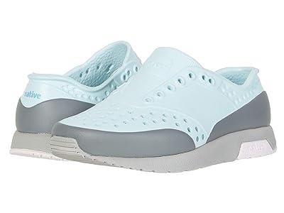 Native Kids Shoes Lennox Block (Toddler/Little Kid) (Piedmont Blue/Pigeon Grey/Milk Pink/Dublin Block) Girls Shoes