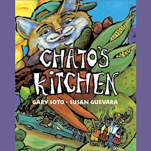 Chato's Kitchen audiobook cover art