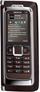 Nokia E90 Communicator Unlocked Phone with 3.2 MP Camera, 3G, Wi-Fi, GPS, Media Player, and MicroSD Slot--U.S. Version wit...