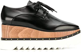 Stella McCartney Women's 580197W0XH01000 Black Polyurethane Lace-Up Shoes