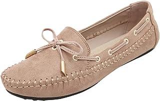 manadlian Femmes Chaussures Dames Loafers Amortissement Chaussures Plates Antidérapantes Espadrilles Douces Femmes Confort...