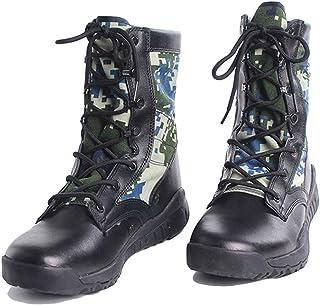 f7143677169 LIUYL Botas Militares tácticas de los Hombres Zapatillas Altas Botas de Combate  Botas de policía de