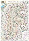 スクリーンマップ 分県地図 長野県 (ポスター地図   マップル)