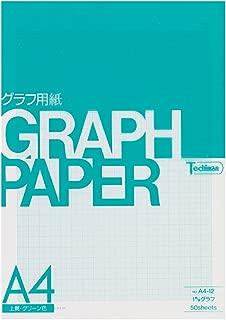 1 mm graph paper green