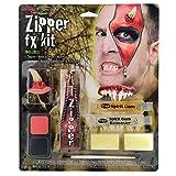 CON CREMALLERA FX Kit - INCLUYE Bocina dientes rojo maquilla