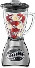Oster 6811 6-Cup Glass Jar 12-Speed Blender, Brushed Nickel