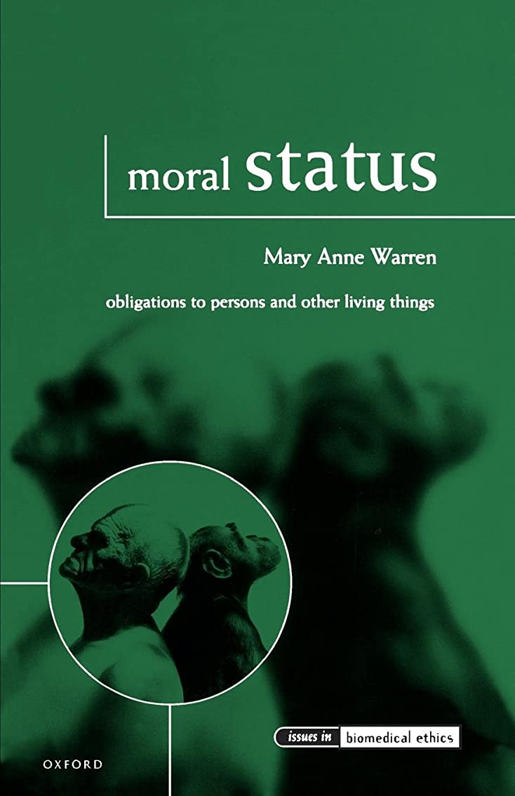 水差し農夫ひいきにするMoral Status: Obligations to Persons and Other Living Things (Issues in Biomedical Ethics)