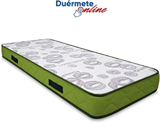 Duérmete Online Duérmete-Colchón Artiflex HR para Cama Articulada (Cara Invierno-Verano diferenciadas) Fabricado en ESPAÑA, Muy Transpirable, 90x190
