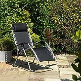 Gravity <span class='highlight'>Garden</span> Reclining Sun Chair Lounger- FSGC