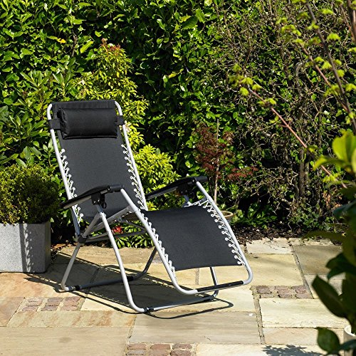 Gravity Garden Reclining Sun Chair Lounger- FSGC