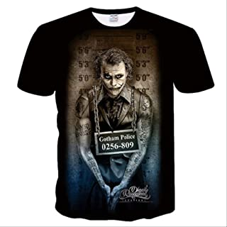 New Men T Shirt 3d Print Women Men Design Haha The Joker Poker Tshirt Summer T-shirt Casual Short Sleeve Harajuku Tops&tees