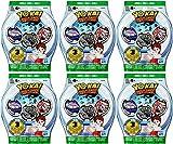 6 Blind Bags: Yo-Kai Watch Series 3 Medals - 18 Random Medals by Yokai...