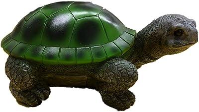 "Direct International 7"" Polyresin Turtle Figurine - Green"