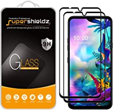(2 Pack) Supershieldz for LG G8X ThinQ (Not Work for The Dual Screen) Tempered Glass Screen Protector, (Full Cover) Anti S...