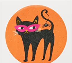 Halloween Midnight Market Black Cat Placemats Set Of 2 Round
