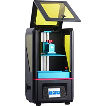 "ANYCUBIC Photon UV LCD 3D Printer Assembled Innovation with 2.8'' Smart Touch Color Screen Off-line Print 4.53""(L) x 2.56""(W) x 6.1""(H) Printing Size (Photon)"