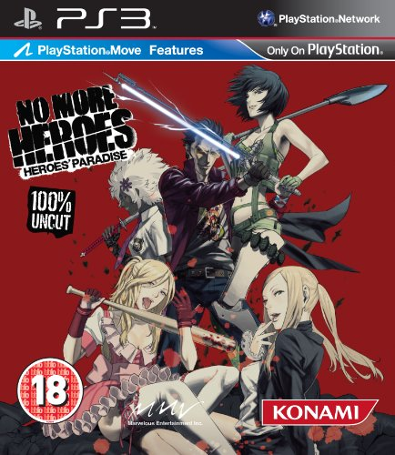 No More Heroes Heroes Paradise Game PS3 [Importación inglesa]