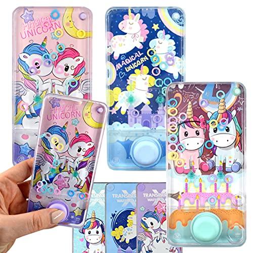 JONOTOYS 3 juegos de paciencia con diseño de unicornio, con forma de teléfono móvil, multicolor, 13 cm