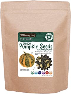 Wilderness Poets Oregon Pumpkin Seeds - Organic, Heirloom, Raw - Bulk Pumpkin Seeds (32 Ounce - 2 Pound)