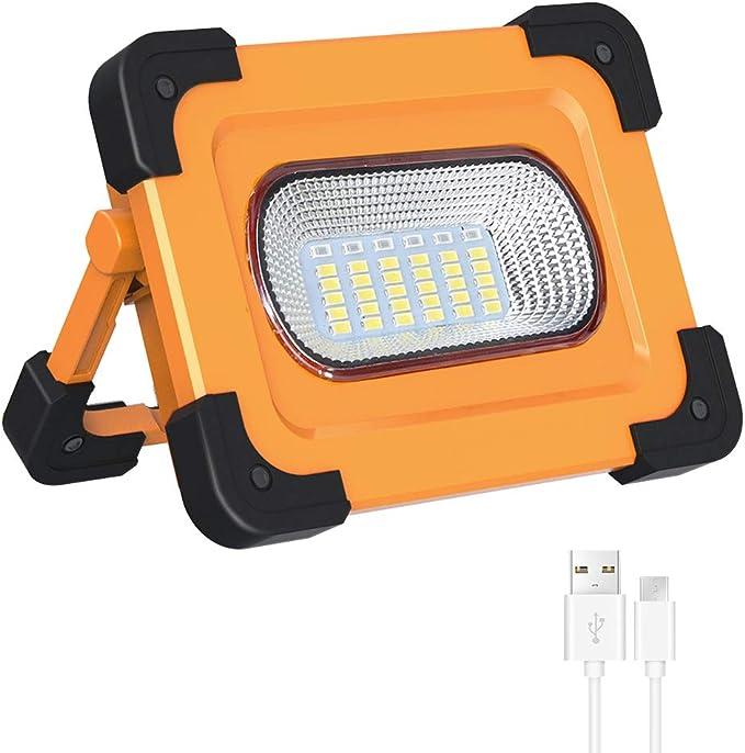 468 opinioni per Elekin Faro Luce LED Portatile, 60W Lampada LED Esterni 3000LM Lampada da Lavoro