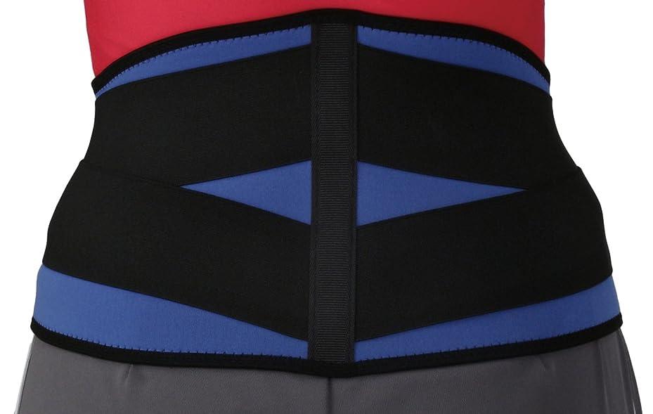 エンジンダース計り知れないbonbone 腰コルセット スポーツWウエスト806  ブルー LL