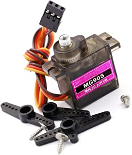 UG LAND INDIA (1 Piece) MG90S Micro Servo 9G Servo Motor Metal Geared Micro Servo Motor 9G Smart Robot